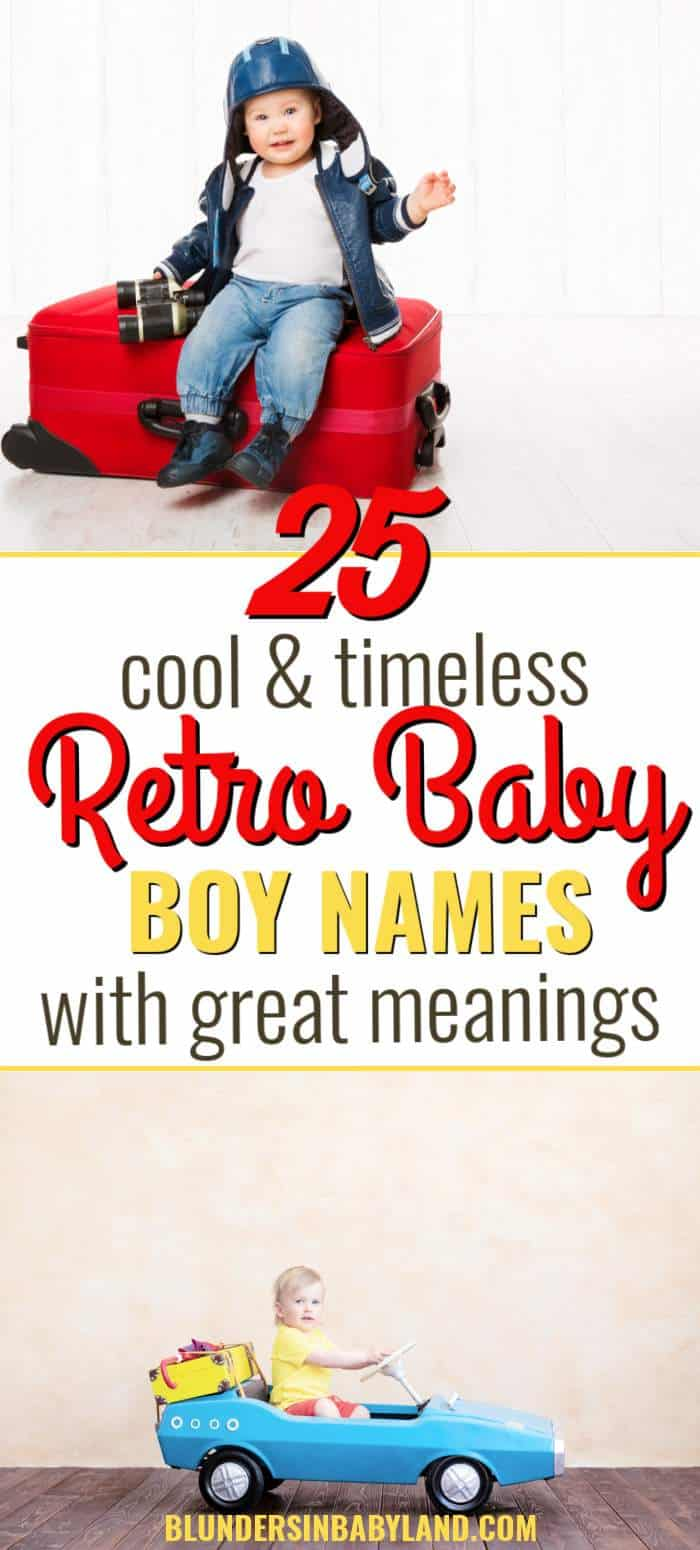 Retro Baby Boy Names