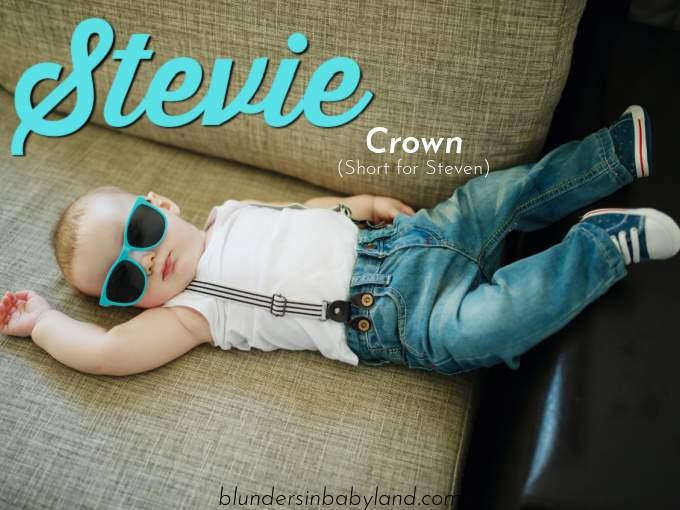 Retro Baby Names - Stevie