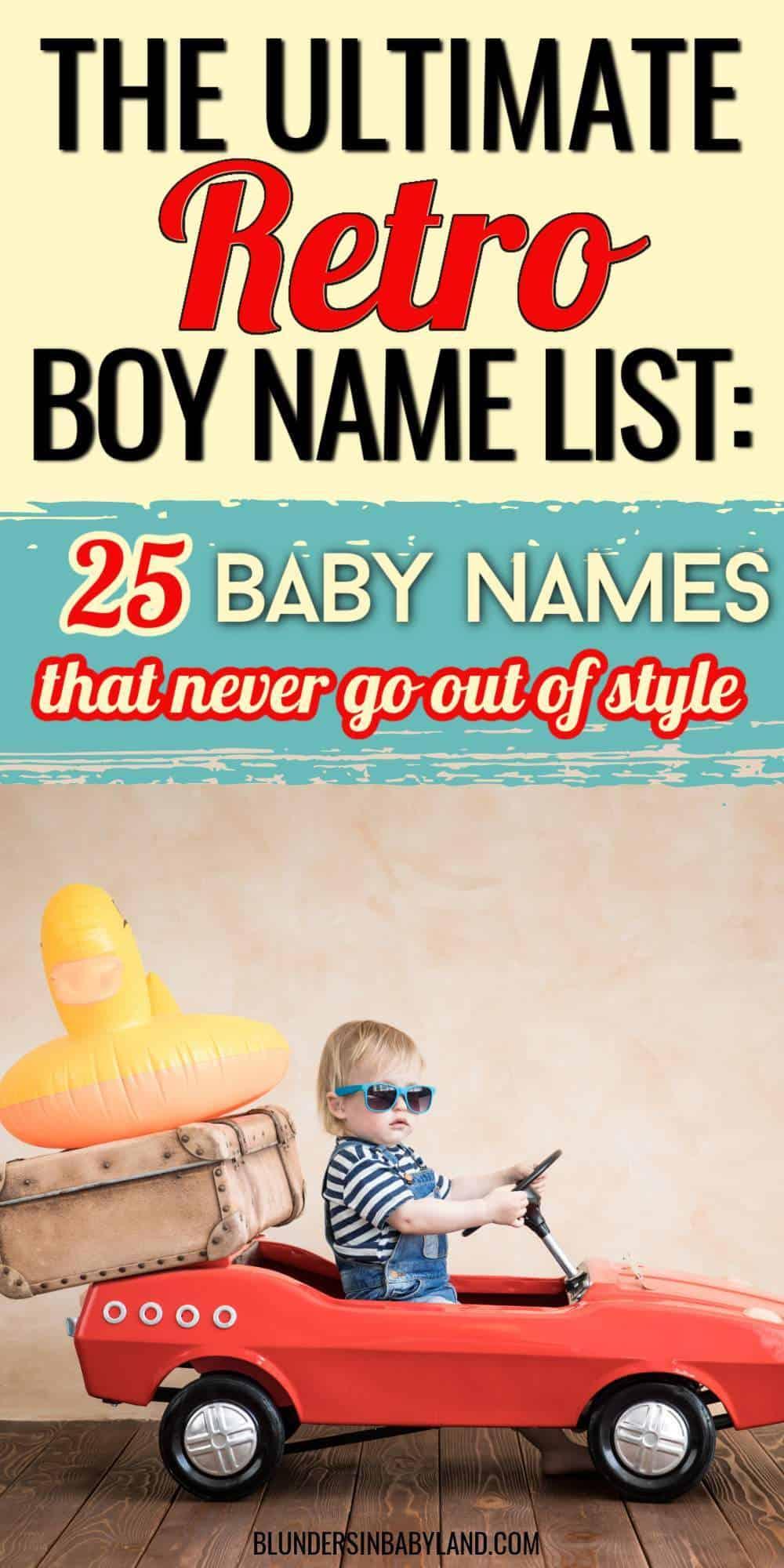 Retro Boy Names - Retro Baby Names (2)
