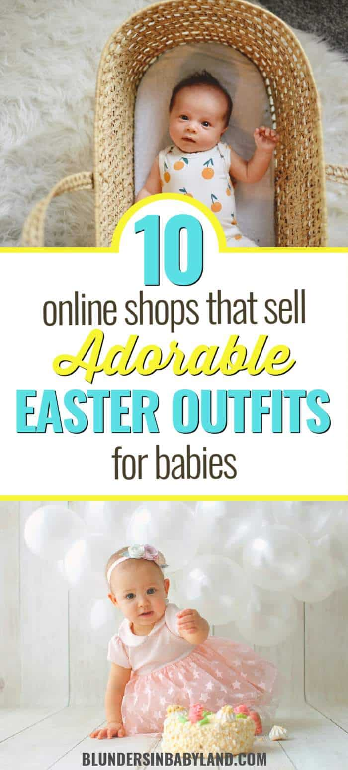 10 places to find easter outfits for babies - easter dress for baby ideas