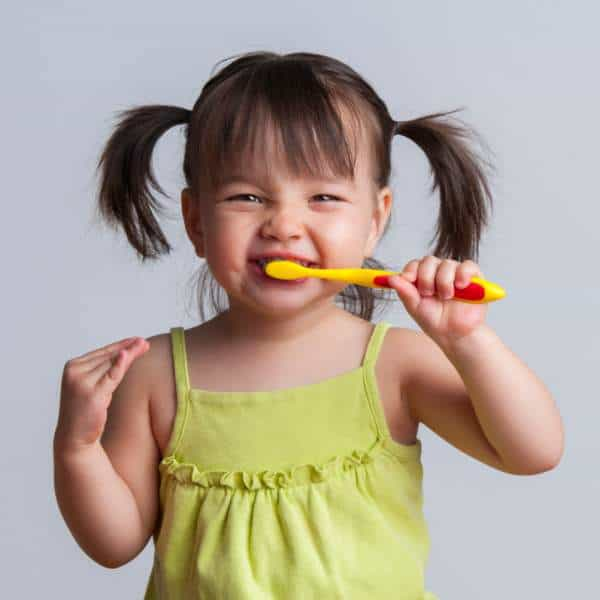 Brushing Toddler Teeth the Easy Way