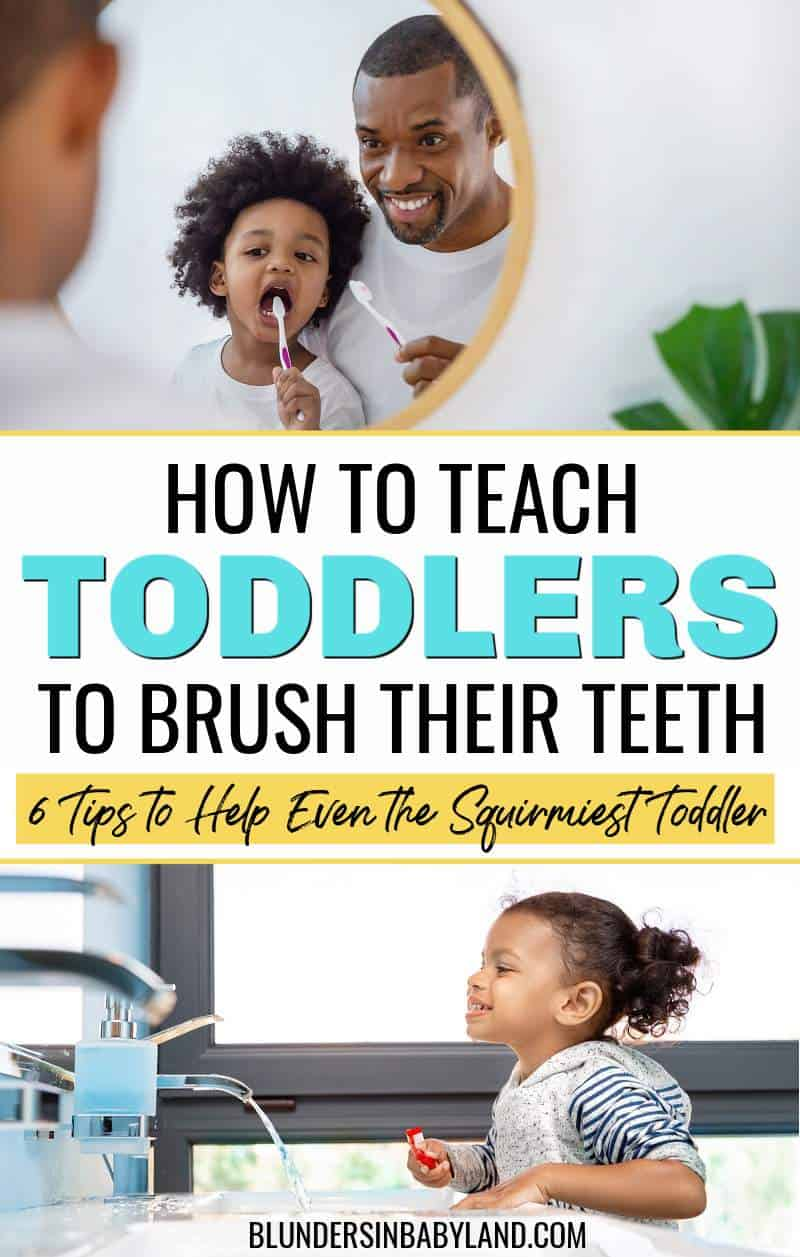 How to Teach Toddlers to Brush Their Teeth (1)