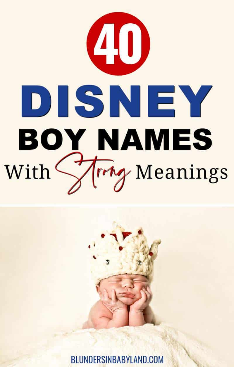 Disney Boy Names - Disney Baby Boy Names