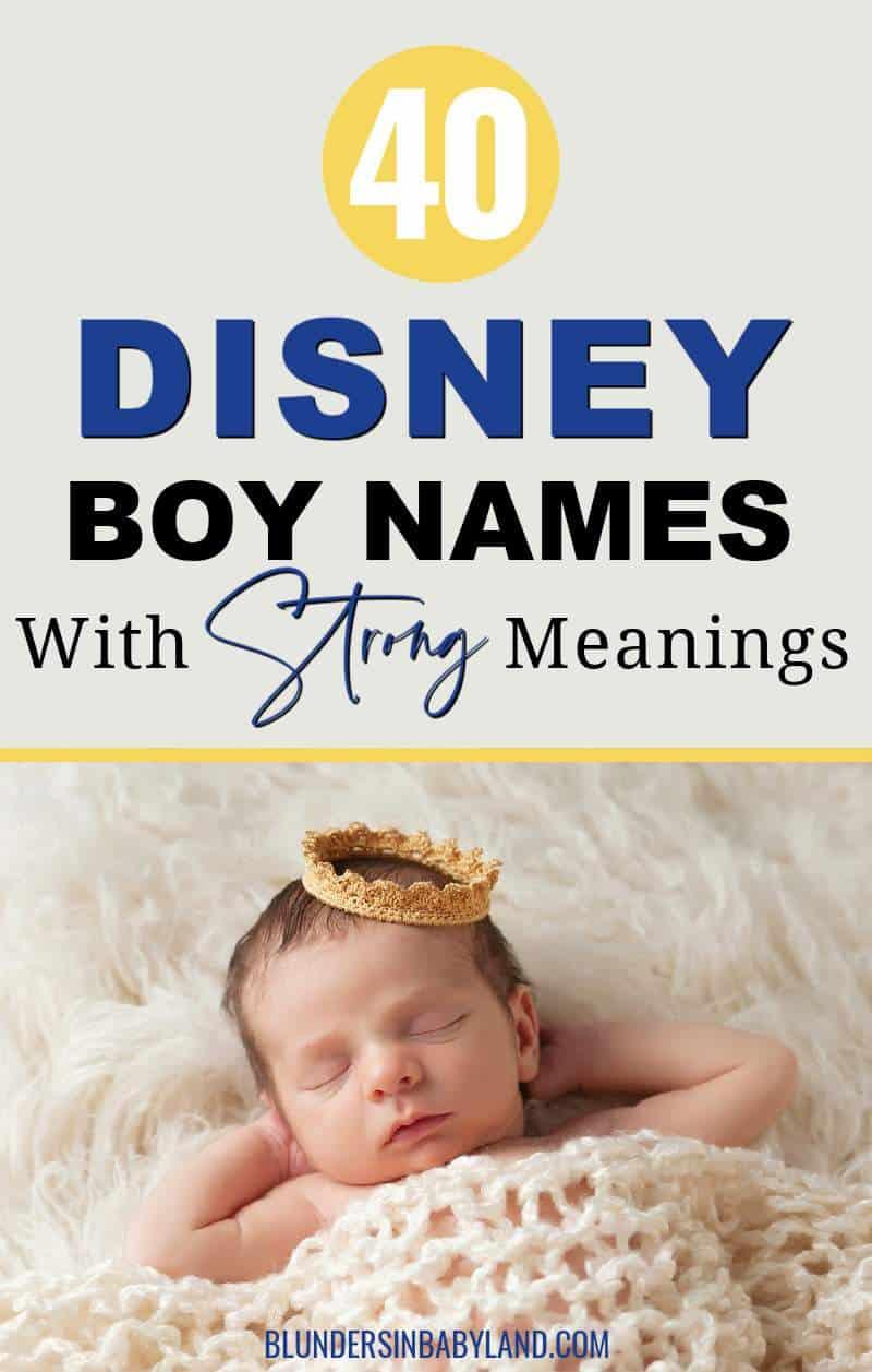 Disney Boy Names - Disney Baby Names
