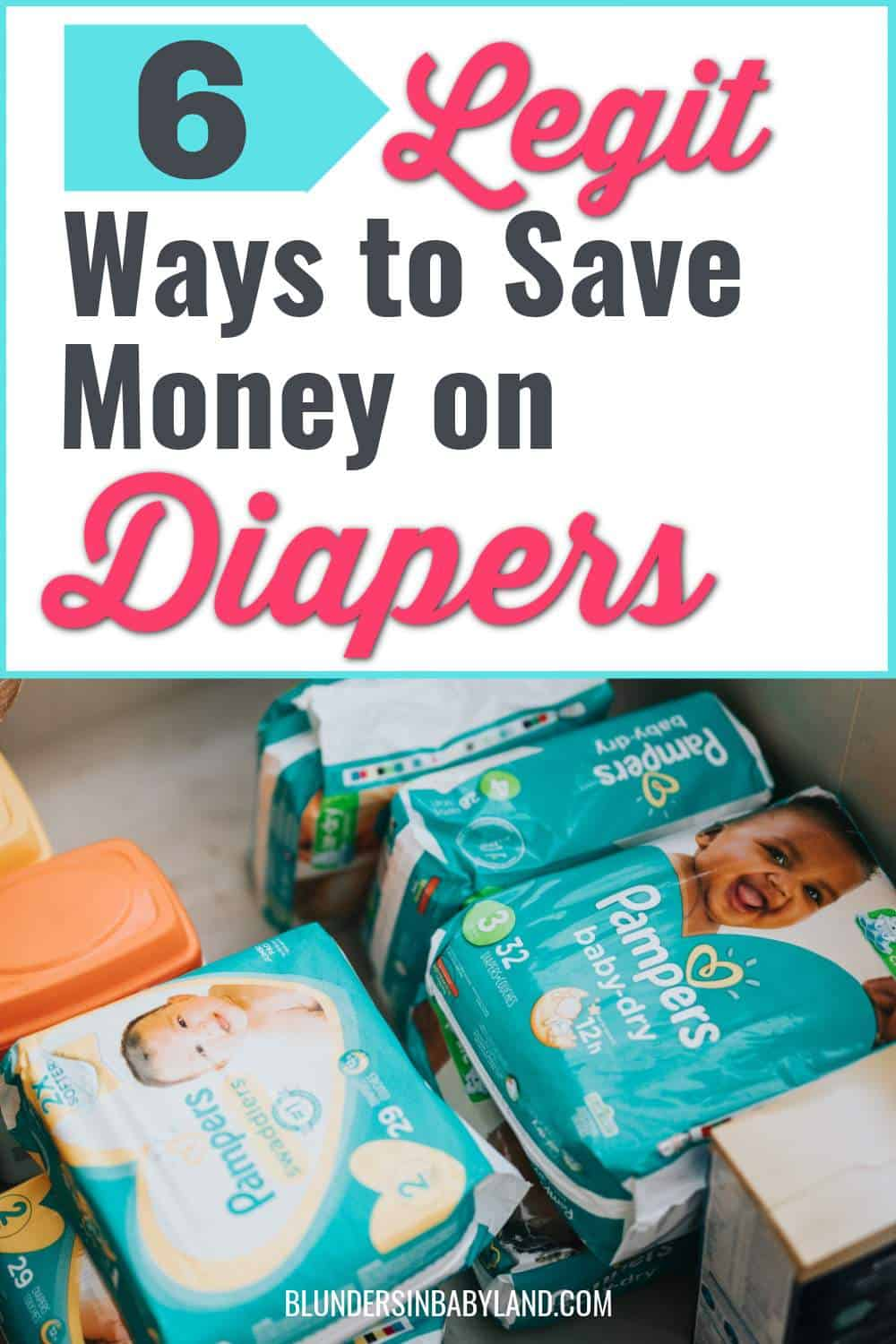 Save money on diapers - Ways to save money on diapers 2