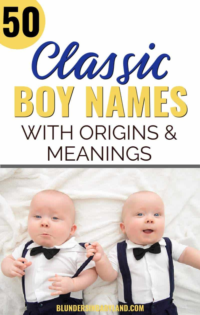 Classic Boy Names - Classical Baby Names for Boys