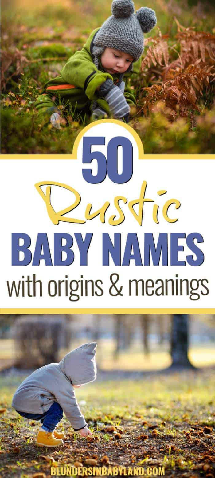 Rustic baby boy names with meanings - rustic names for boys (1)