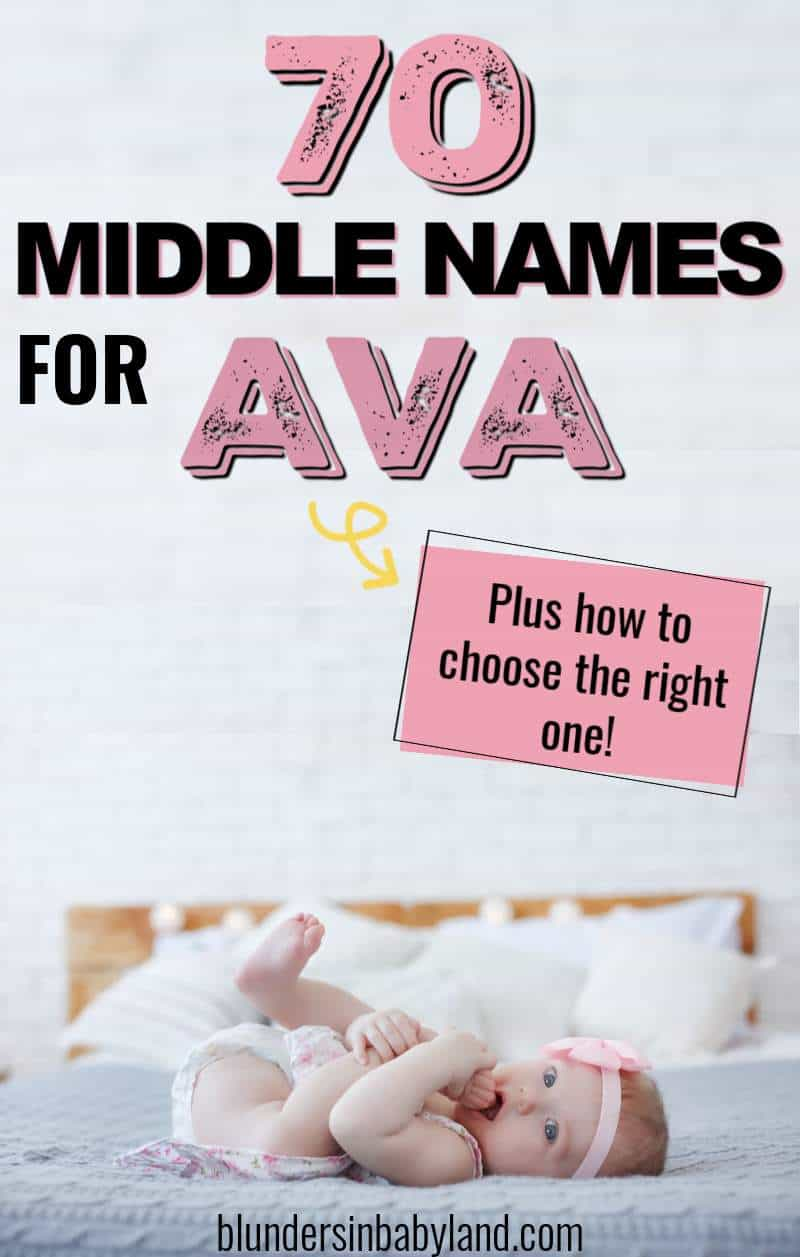 Middle Names for Ava - Baby Girl Names