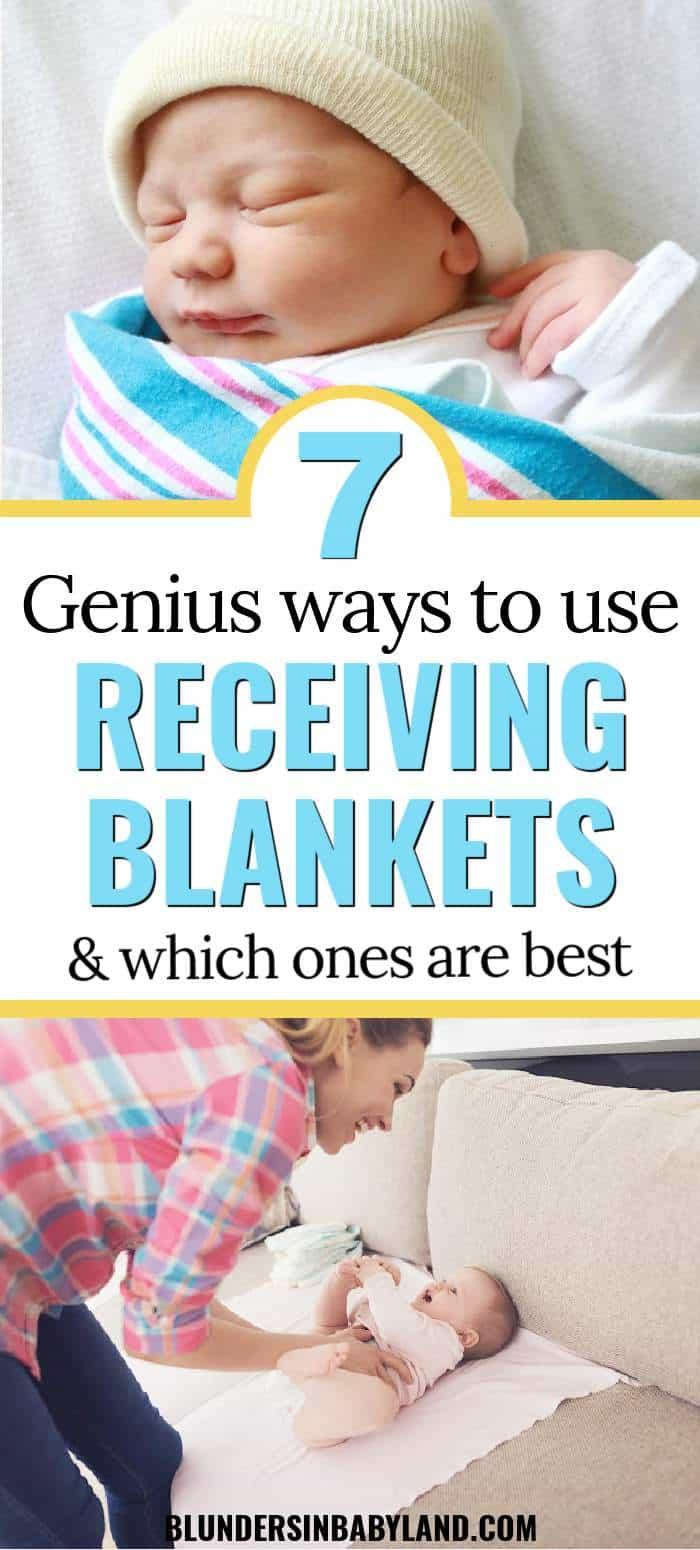 Ways to Use Receiving Blankets - Best Receiving Blankets