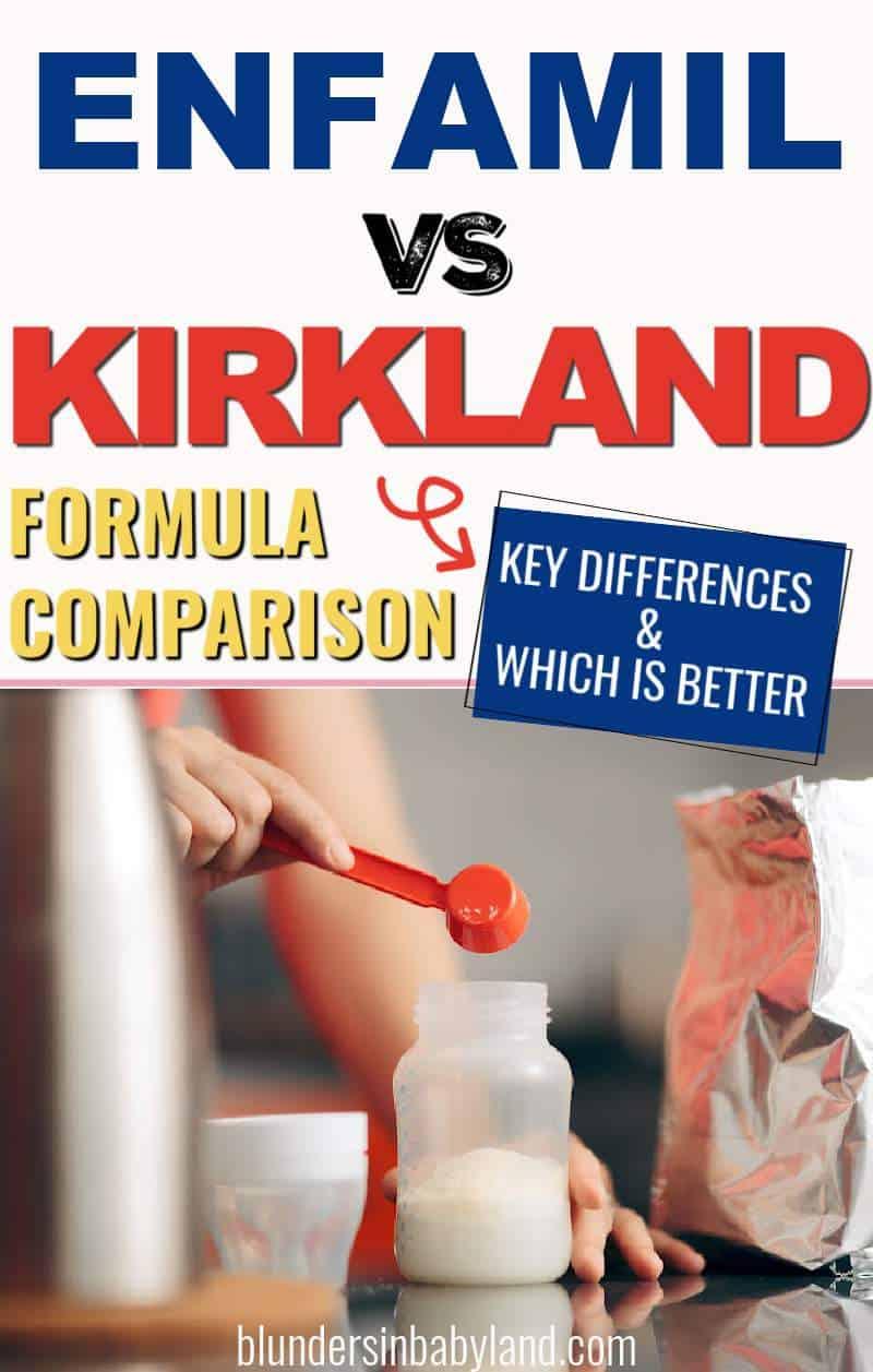 Enfamil vs Kirkland Formula - Is Enfamil or Kirkland Formula Better (1)