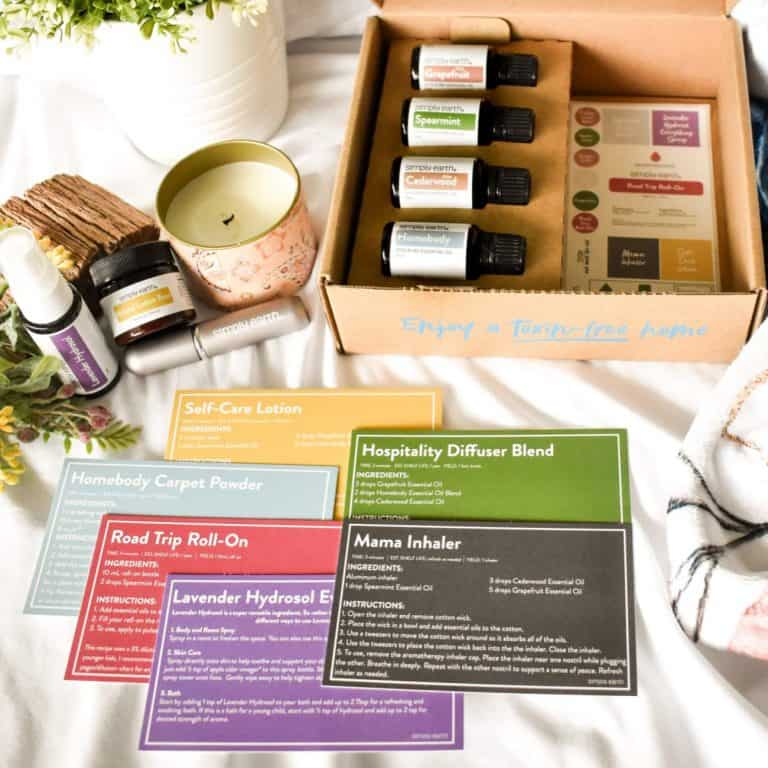 Simply Earth July 2021 Box Review + Sign On Bonus