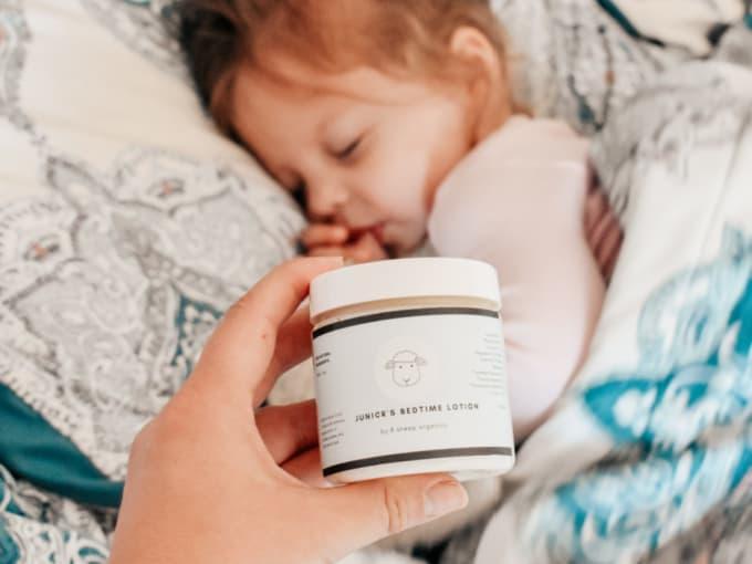 Getting an Overtired Baby to Sleep - 8 Sheep Organics