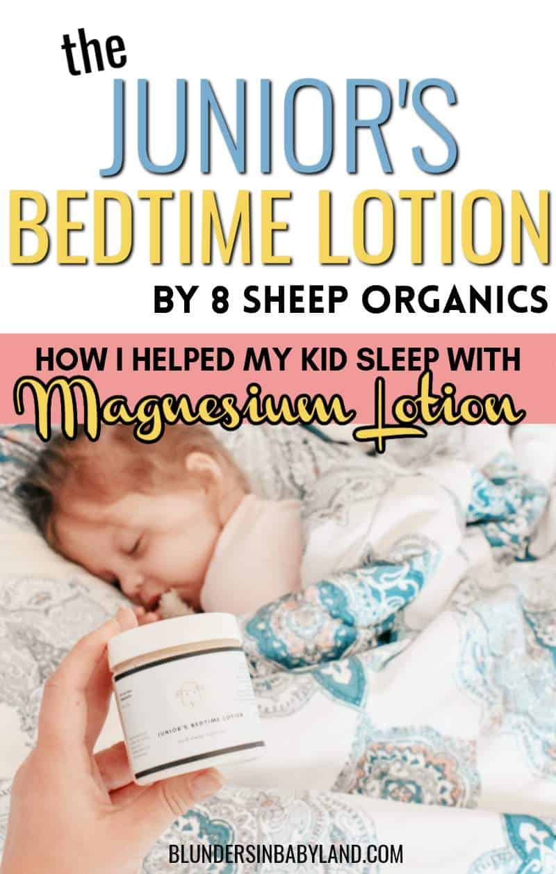 Magnesium Lotion Review - MAGNESIUM LOTION FOR KIDS- Junior Bedtime Lotion Reviews