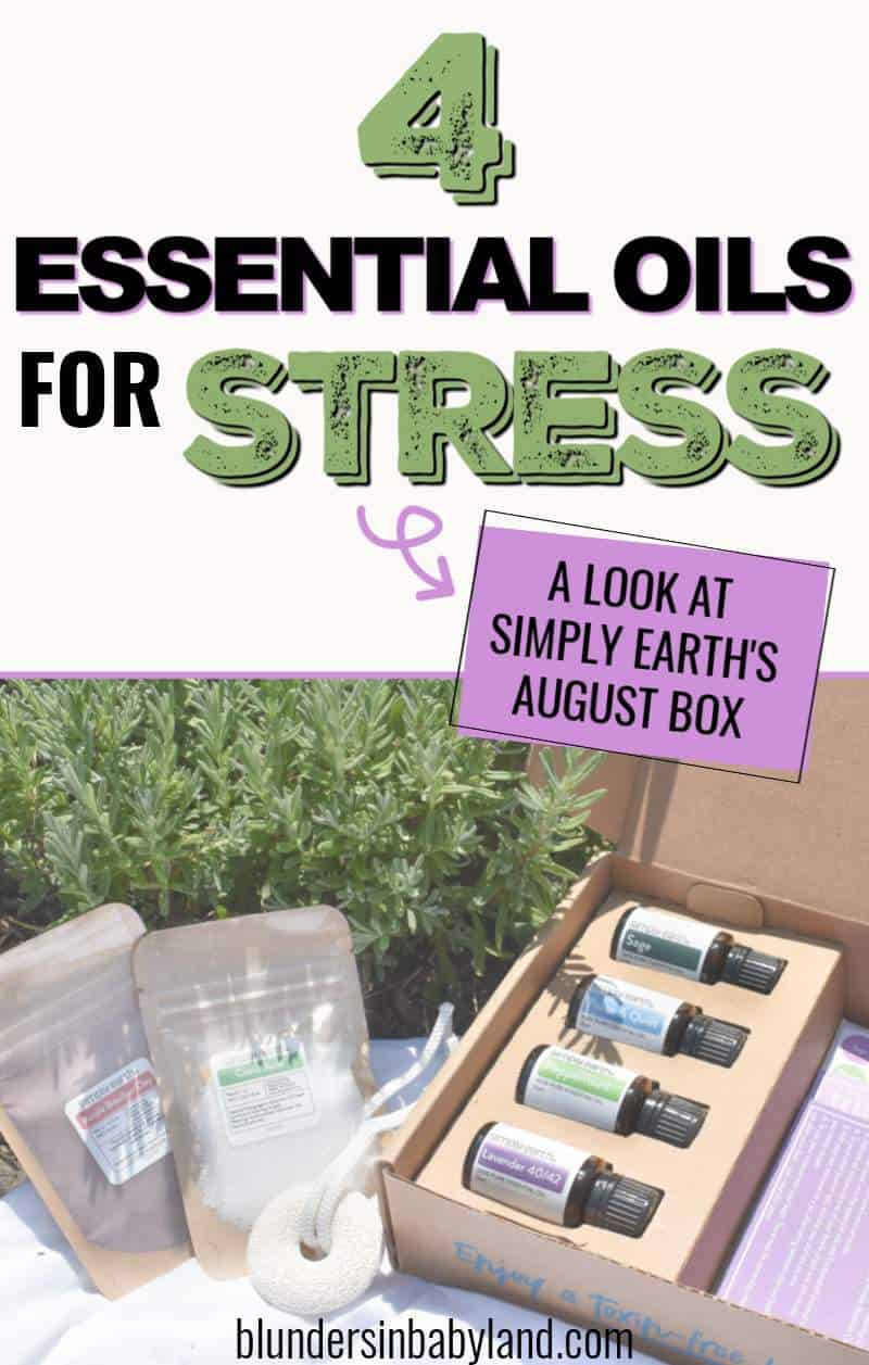 Simply Earth AUGUST 2021 Recipe Box - Essential Oils for Stress (1)