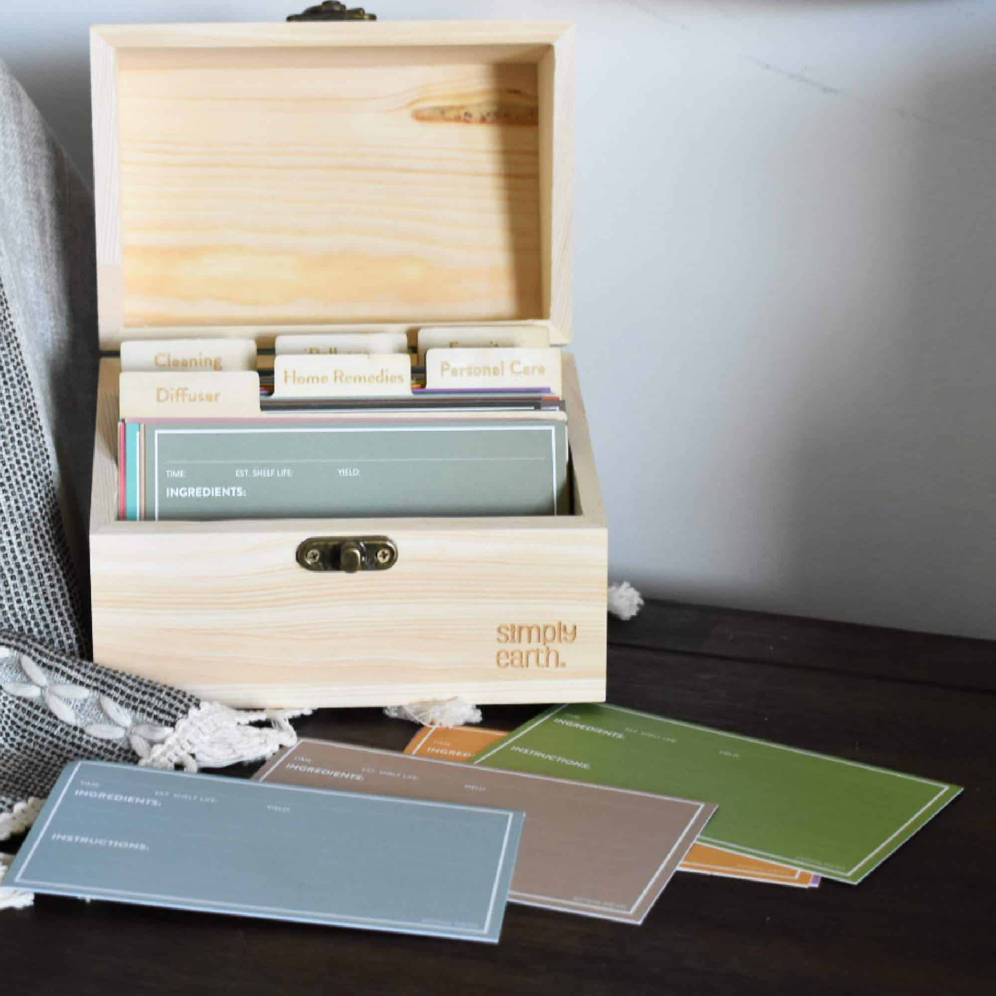 Simply Earth Recipe Storage Box Review