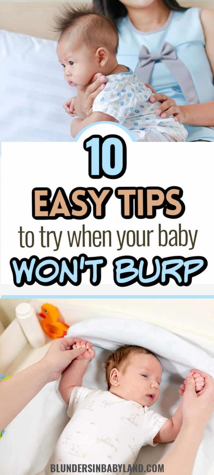 Baby Burping Tips - Baby is Hard to Burp (1)