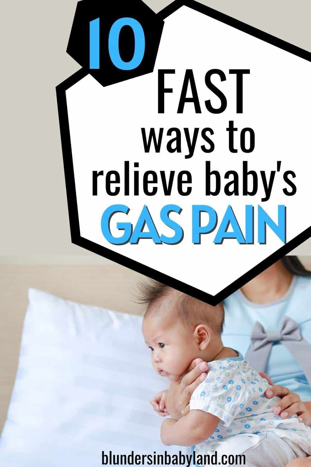 Baby Gas Pain Relief - Burping Tips