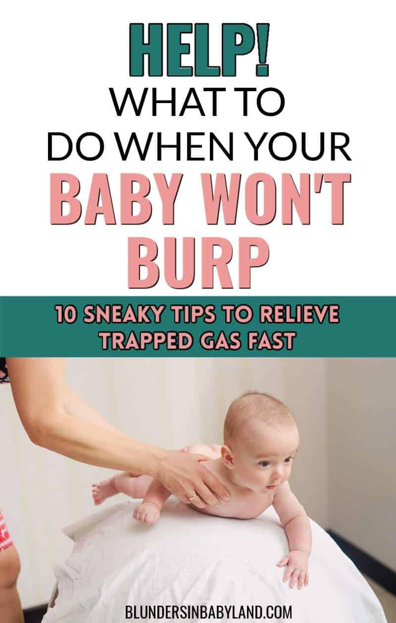 Baby Won't Burp - Burping Tips for Baby