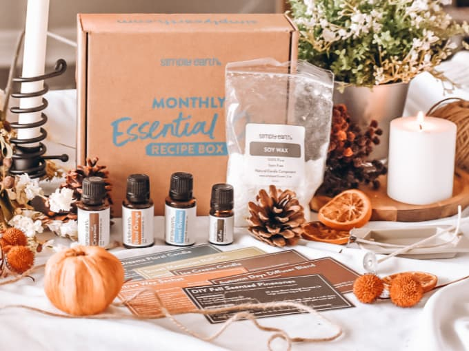 Simply Earth September Recipe Box - Whats Included