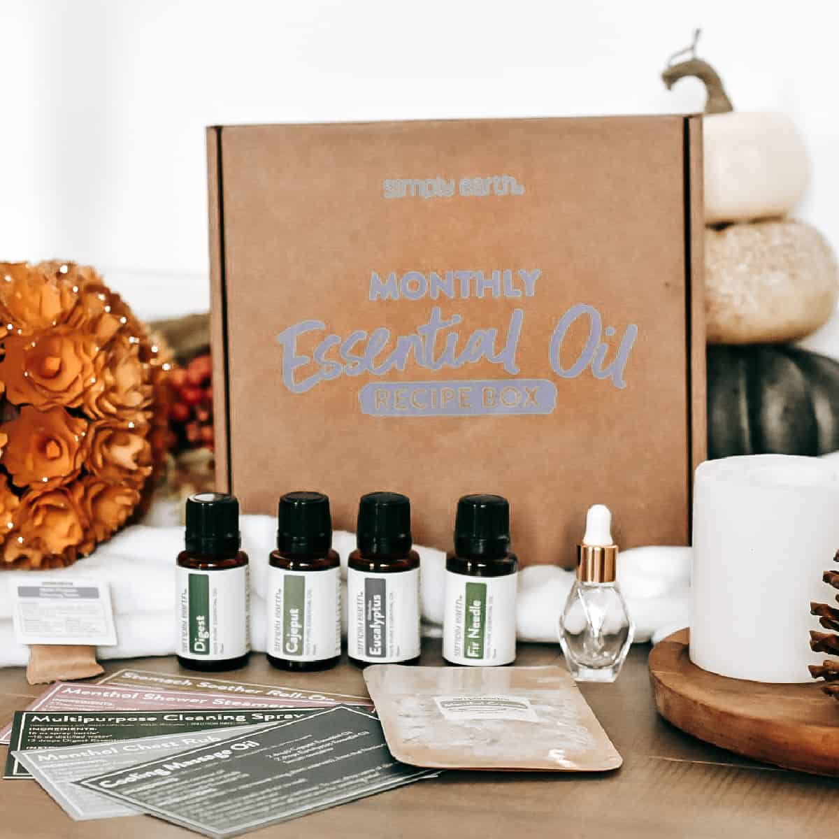 Simply Earth October 2021 Box Review - Essential Oils